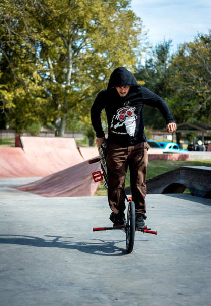 Photograph - Flatland Freestyle by David Morefield
