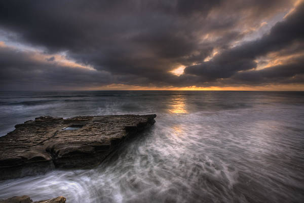 Torrey Photograph - Flatrock by Peter Tellone