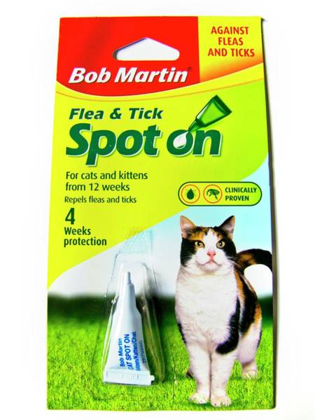 Wall Art - Photograph - Flea And Tick Treatment For Cats by Ian Gowland/science Photo Library