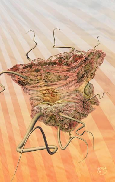 Digital Art - Fleshy by Matt Lindley