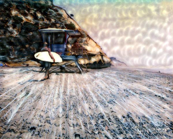 Photograph - Fletchers Cove Surfer by Glenn McNary