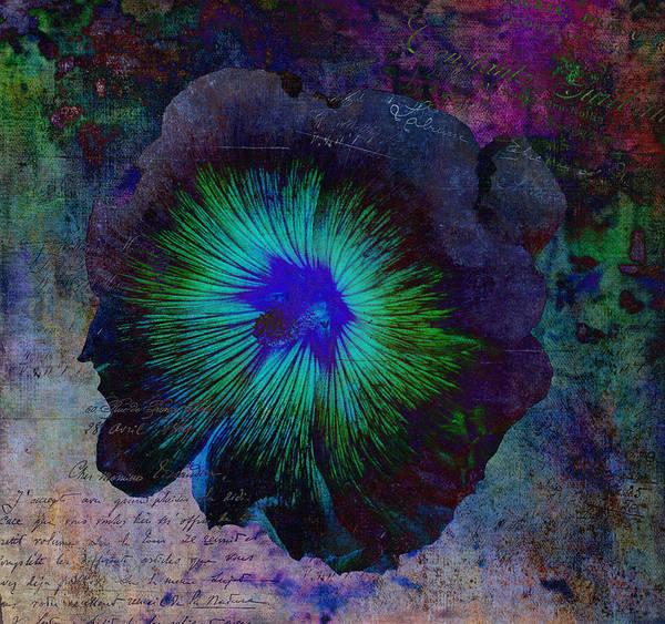 Fleur Digital Art - Fleur De Bleu De Cru by Sandra Selle Rodriguez