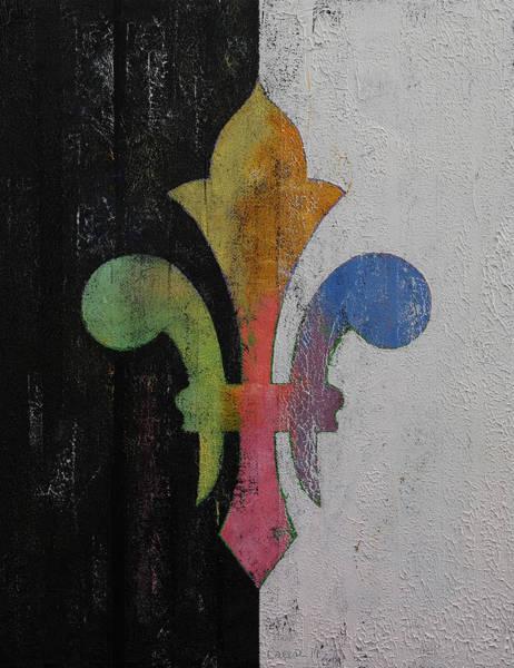 Fleur De Lys Painting - Fleur De Lis by Michael Creese