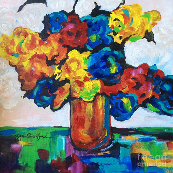 Painting - Fleurs De Vigne by Lisa Owen-Lynch