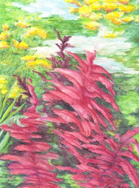 Utilitarian Painting - Fleurs - Study by Cris Johnson
