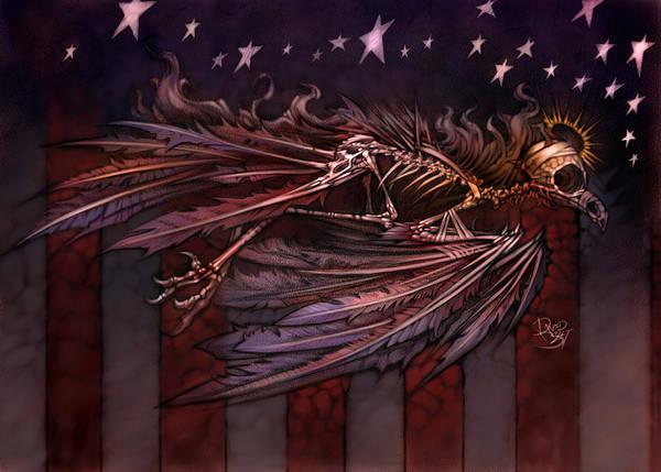 Wall Art - Digital Art - Flight Of The American Spirit by David Bollt