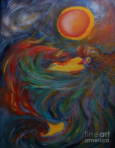 Painting - Flight Of The Phoenix by Robyn King