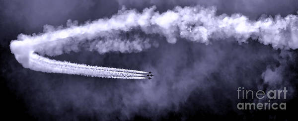Photograph - Flight Of The Thunderbirds by Olivier Le Queinec