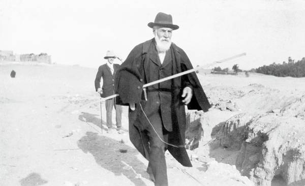 Wall Art - Photograph - Flinders Petrie In Egypt by Petrie Museum Of Egyptian Archaeology, Ucl