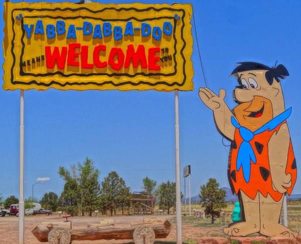 Wall Art - Photograph - Flinstones Bedrock City In Arizona by Dan Sproul