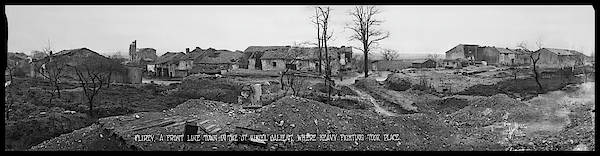 Wall Art - Photograph - Flirey, A Front Line Town In The St by Fred Schutz Collection