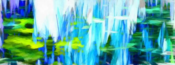 Mixed Media - Float 1 Horizontal by Angelina Tamez