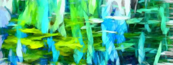 Digital Art - Float 4 Horizontal by Angelina Tamez