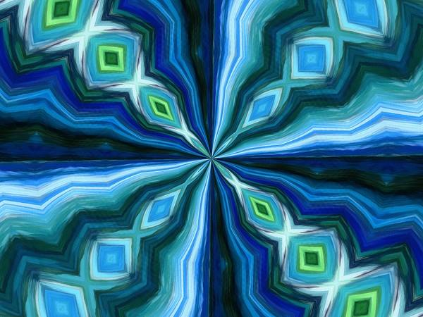 Mixed Media - Float Abstract Pattern 6 by Angelina Tamez
