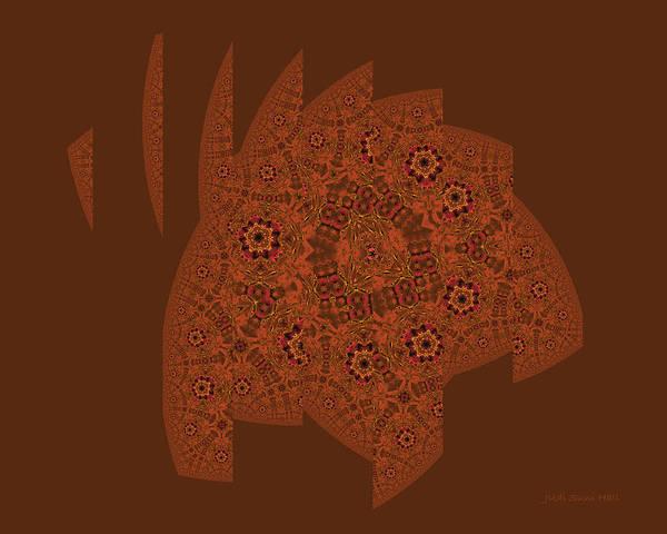 Digital Art - Floating Elephant by Judi Suni Hall