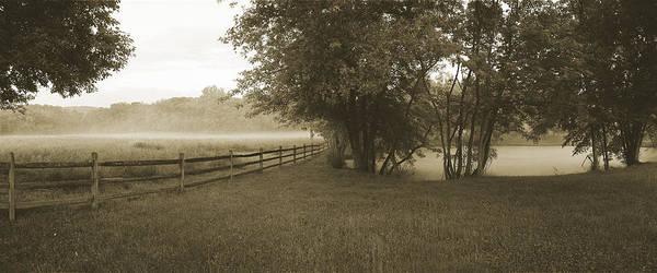 Monocacy Wall Art - Photograph - Floating Fog Fields by Jan W Faul