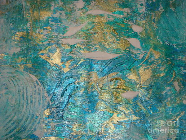 Wall Art - Painting - Floating II by Fereshteh Stoecklein