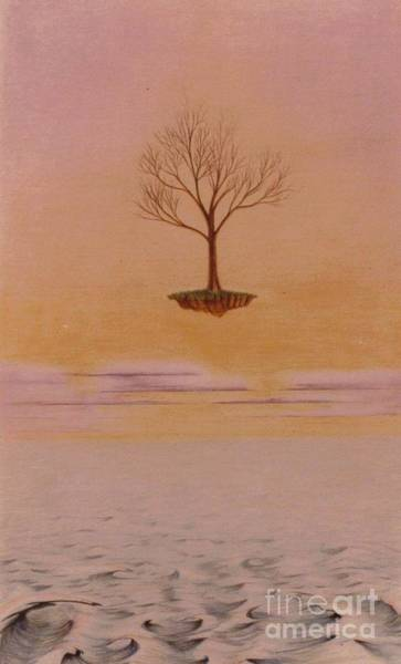 Drawing - Floating Life by David Neace