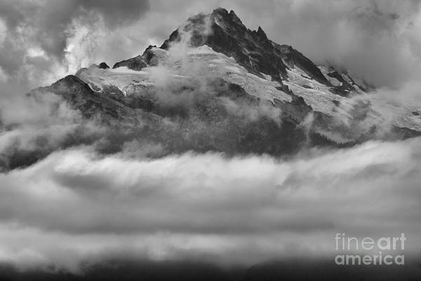 Photograph - Floating Tantalus Peaks by Adam Jewell