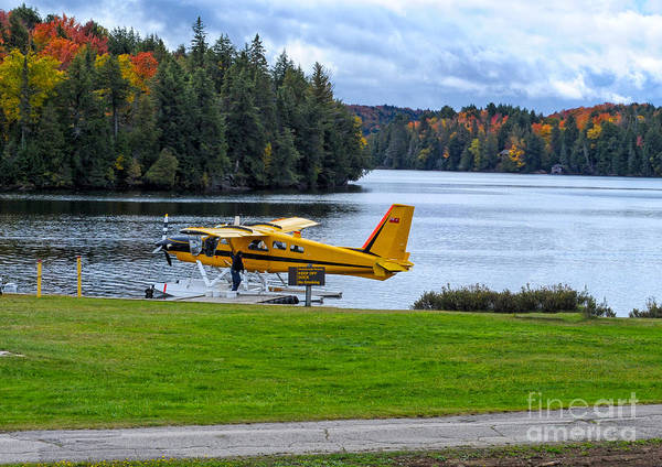 Photograph - Floatplane In Fall by Les Palenik