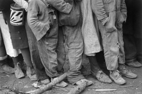 Photograph - Flood Refugees, 1937 by Granger