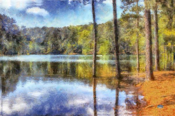 Digital Art - Flooded Allatoona by Daniel Eskridge