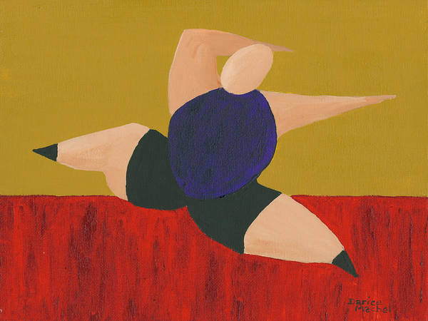 Painting - Floor Dancer 4 by Darice Machel McGuire
