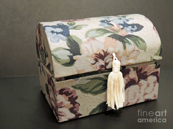 Jewelery Photograph - Floral Box by ChelsyLotze International Studio