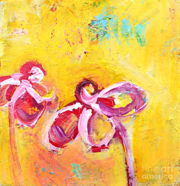 Painting - Abstract Flowers Silhouette No 14 by Patricia Awapara