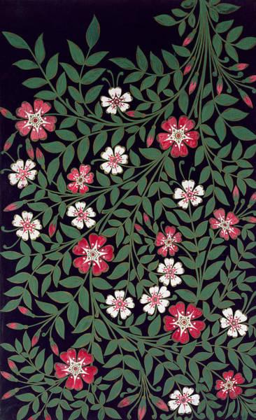 Wall Art - Painting - Floral Design by Owen Jones