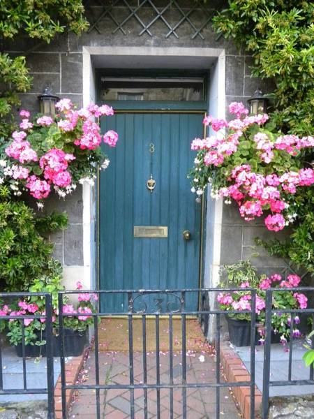 Photograph - Floral Door by Peggy  McDonald