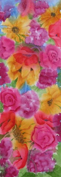 Wall Art - Painting - Floral Glory Uno by Rhonda Leonard