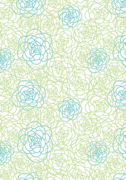 Decorative Photograph - Floral Lines by MGL Meiklejohn Graphics Licensing