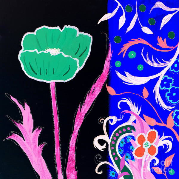 Painting - Floral Pattern by Robin Maria Pedrero