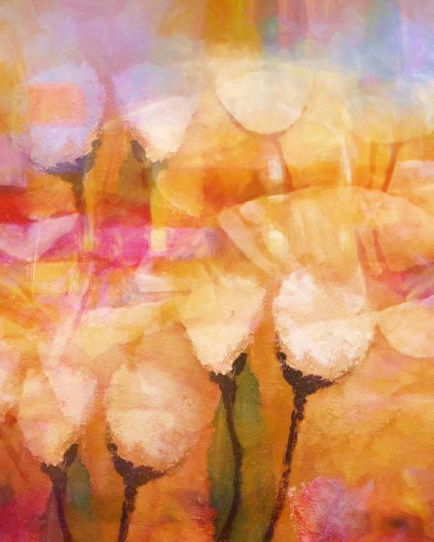 Poetry Painting - Floral Poetry by Lutz Baar