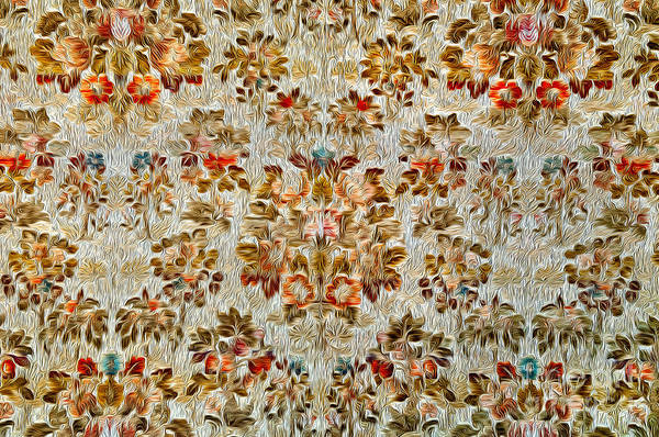 Photograph - Floral Tapestry by Mae Wertz