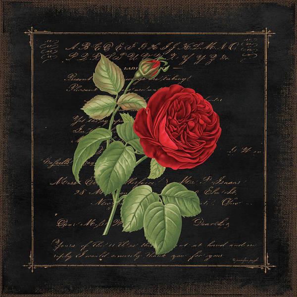 Wall Art - Painting - Floral V by Jennifer Pugh