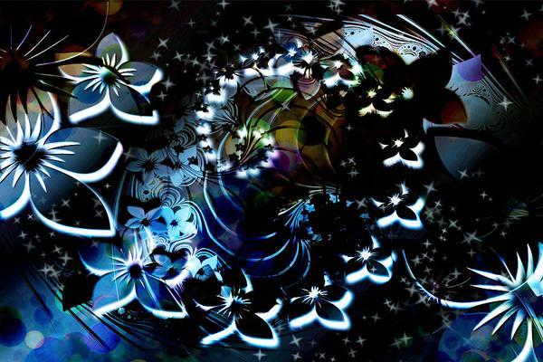 Wall Art - Digital Art - Floral Way by Paula Ayers