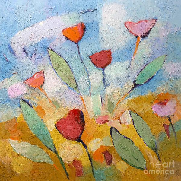 Painting - Floralbreeze by Lutz Baar