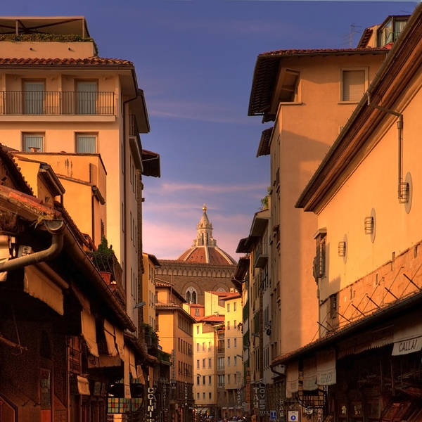 Photograph - Florence Architecture by Bob Coates