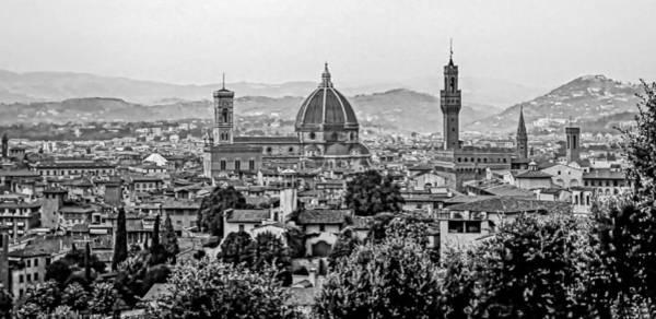 Florence Bw Art Print
