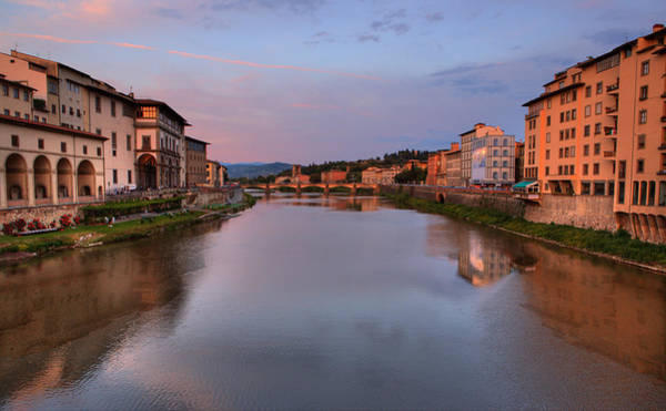 Photograph - Florence Italy Reflections Number Three by Bob Coates