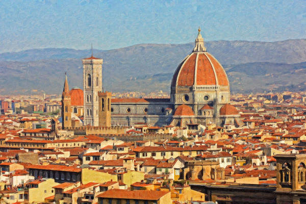 Painting - Florence Itl3862 by Dean Wittle