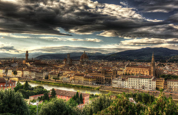 Photograph - Florence by Michael Kirk