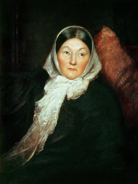 Wall Art - Painting - Florence Nightingale by Sir William Blake Richomond