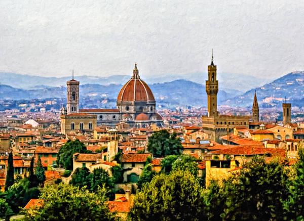Florence - Oil Art Print