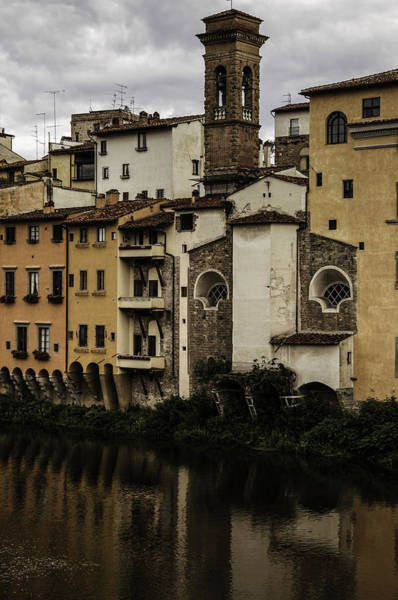 Photograph - Florence On The Arno by Curtis Dale