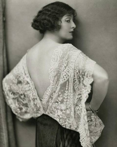 1922 Photograph - Florence Reed In East Of Suez by Nickolas Muray