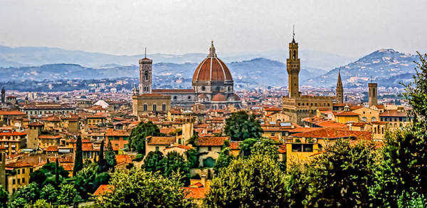 Impasto Photograph - Florence by Steve Harrington