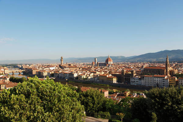 Florence, Tuscany, Italy. Overall View Art Print